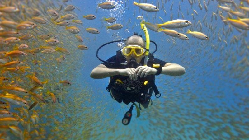 PADI Deep Diver – глубокое погружение